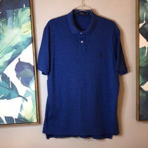 Ralph Lauren blue polo XL